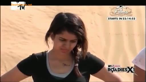 MTV Roadies X1 - 22nd March 2014 - Jaisalmer Journey - Episode 3 - Part 3/3