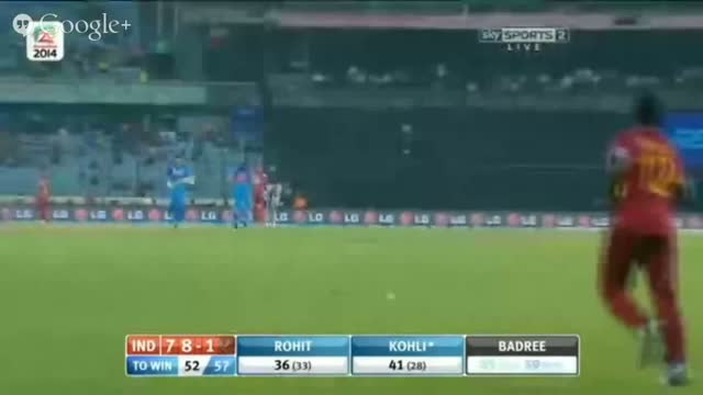 India vs West Indies T20 Highlights - T20 World Cup 2014 - IND vs WI T20 (Cricket Video) - 23.3.2014