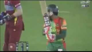 BAN WICKETS Highlights - Bangladesh vs West Indies T20 World 2014 - BAN vs WI T20 2014