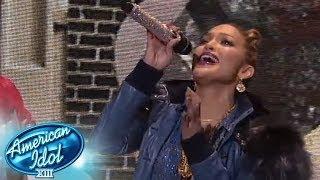 "AMERICAN IDOL: Top 10 Results - Jennifer Lopez ""I Luh Ya Papi"" - AMERICAN IDOL SEASON XIII"