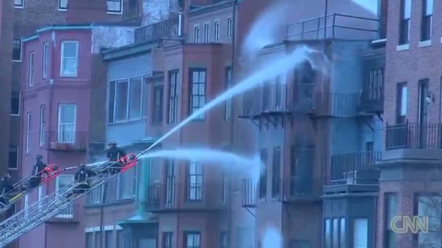 9-alarm fire in Boston neighborhood (News Video)