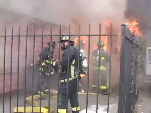2 Firefighters Killed in Boston Blaze (News Video)