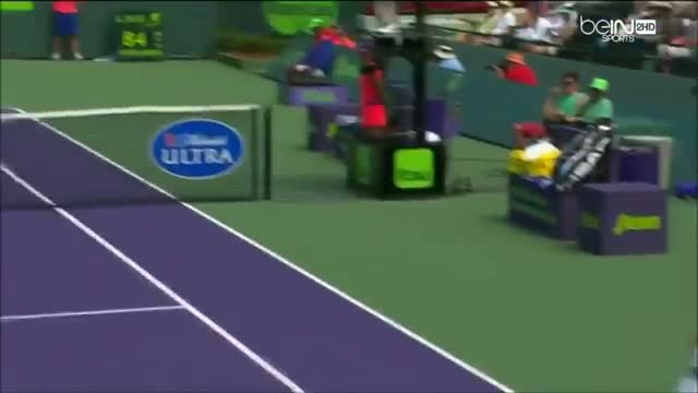 Novak Djokovic Vs Tommy Robredo Miami 2014 HIGHLIGHTS HD
