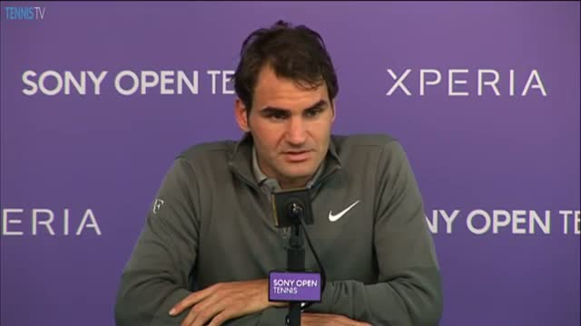 Federer Ready To Play On Clay After Miami 2014 Loss (Tennis Video)