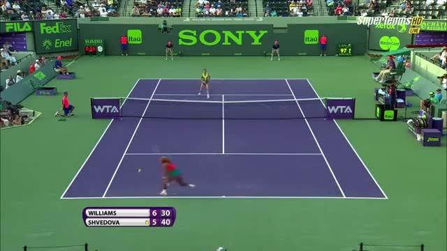 Serena Williams vs. Yaroslava Shvedova - Miami 2014 Highlights [HD] (Tennis Video)