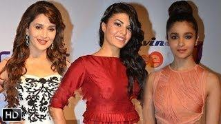 Bollywood Celebrities At Sree Shakti Awards 2014 - Madhuri Dixit, Jacqueline Fernandez & Alia Bhatt