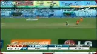 SA Batting - South Africa vs Netherlands T20 WORLD CUP 2014 Highlights 27.3.2014 SA vs NED T20 (Cricket Video)