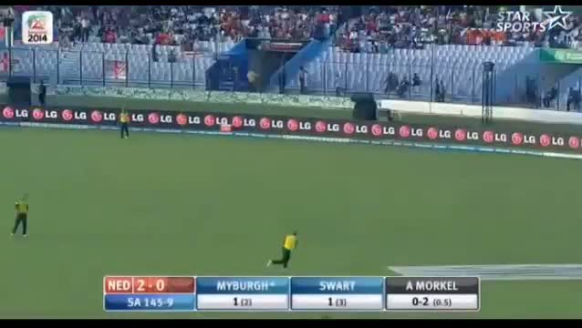 South Africa vs Netherland T20 World Cup 2014 Highlights - SA Vs Ned T20 (Cricket Video)