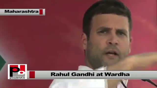 Rahul Gandhi: Congress brought several welfare schemes for the poor in last ten years