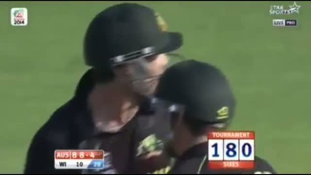 Aus Innings Highlights - Australia Vs West Indies T20 World Cup 2014 - Aus vs WI T20 (Cricket Video)