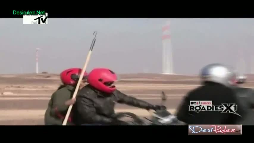 MTV Roadies X1 - 29th March 2014 - Jaisalmer Journey - Episode 4 - Part 2/4
