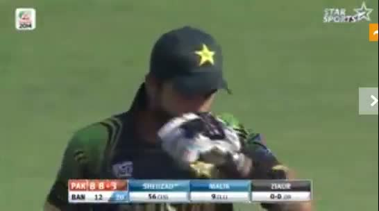 Ahmed Shehzad Innings hundred vs Bangladesh 2014 - Pakistan vs Bangladesh T20 World Cup 2014 (Cricket Video)
