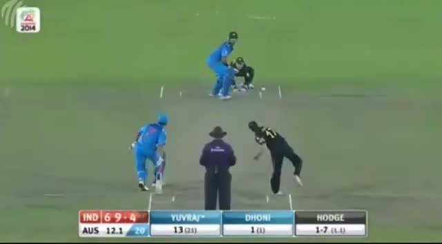 Yuvraj Singh 60 Runs Off 43 Balls vs Australia - India vs Australia T20 World Cup 2014 - Ind Vs Aus T20 (Cricket Video)