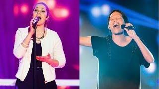 The Voice of Switzerland 2014 - Knockout - Carla Quartas vs. Brendon Schoen Johnson