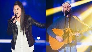 The Voice of Switzerland 2014 - Knockout - Carmen Bieri vs. Shem Thomas