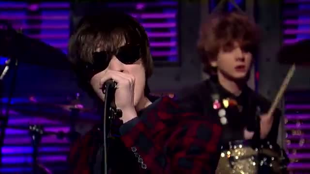"""David Letterman - The Strypes: """"What A Shame"""" Video"""
