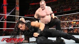 Kane vs. Roman Reigns - WWE App Vote Match: WWE Raw, March 31, 2014