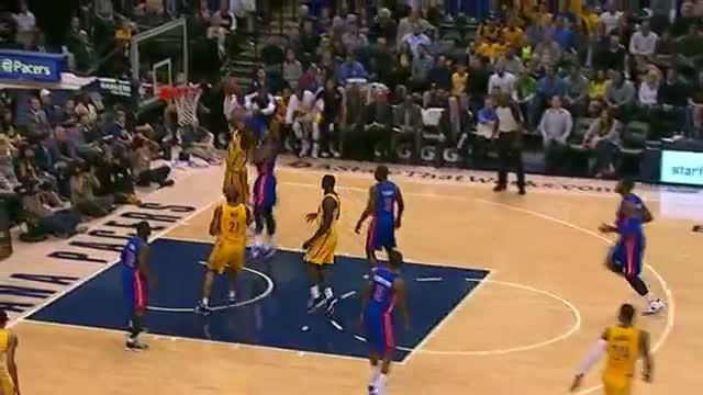 NBA: Lance Stephenson's Flashy Between-the-Legs Shovel Pass (Basketball Video)