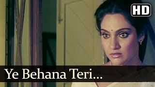 Ye Behana Teri (HD) - Satyamev Jayate Songs - Vinod Khanna - Meenakshi - Kavita Krishnamurthy (Bollywood Video Song)