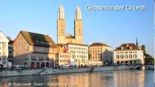 Best of Zurich - Switzerland Travel Attractions (Travel Video)