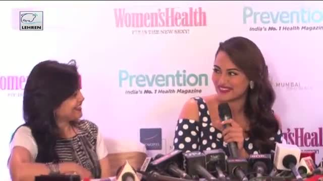 Sonakshi Sinha Becomes Cover Girl For Women's Health Magazine