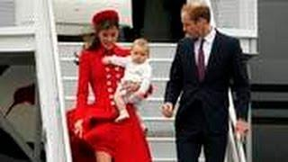 Kate Middleton Channels Princess Diana in Red Coat While Arriving in New Zealand