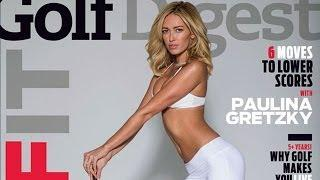 PAULINA GRETZKY Covers Golf Digest!