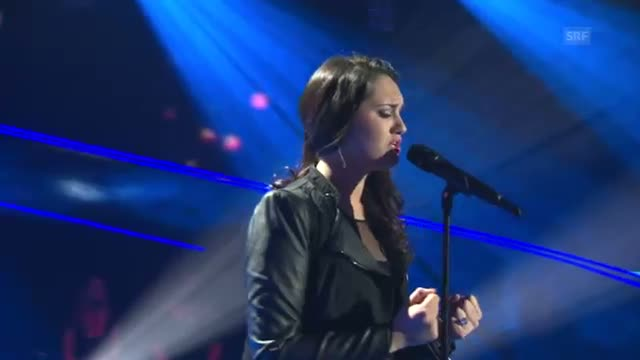 The Voice of Switzerland 2014 - Freschta Akbarzada - Turning Tables - Live-Show 1