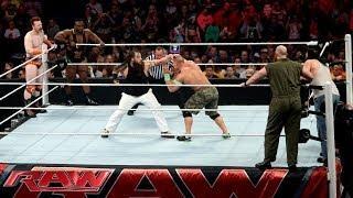 John Cena, Sheamus & Big E vs. The Wyatt Family: WWE Raw, April 7, 2014