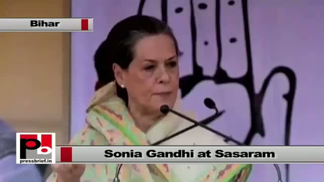 Sonia Gandhi : BJP leaders are talking big and misleading the people