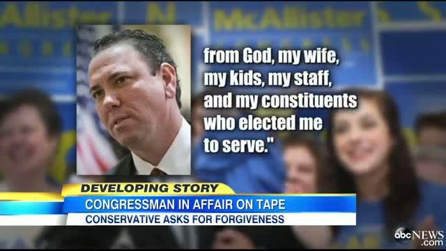 Congressman Vance McAllister Caught Kissing Staffer on Tape