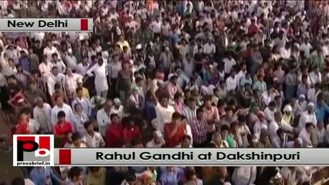 Rahul Gandhi : We have made 3 times more road than NDA