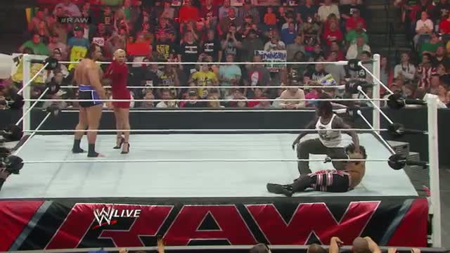 Xavier Woods vs. Alexander Rusev: WWE Raw, April 14, 2014