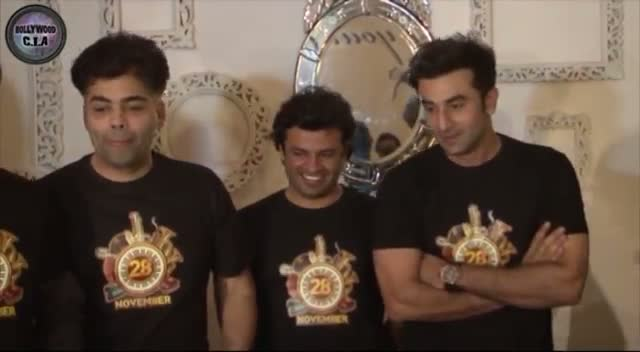 Bombay Velvet Wrap Up Party : KJO, Ranbir, Anurag Party HARD