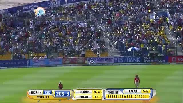 CSK vs KXIP - Match 3 - Balaji secures Dwayne Smith and Dhoni wickets - PEPSI IPL 2014 (18 April 2014)