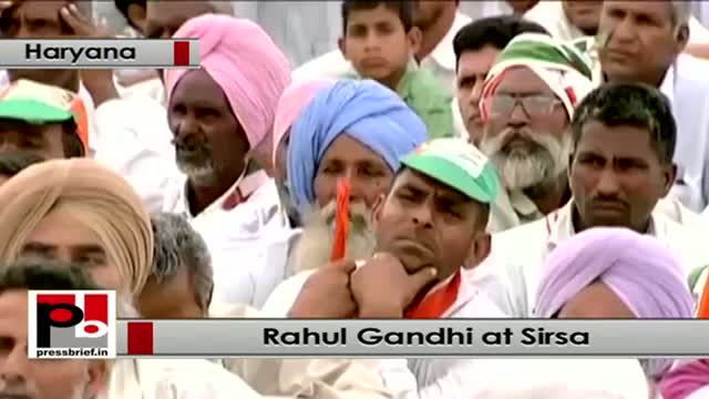 Rahul Gandhi : BJP makes people fight with each other