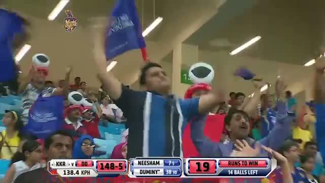 KKR vs DD - Match 6 - JP Duminy hits 35 balls half century - PEPSI IPL 2014 (19 April 2014)