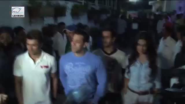 Salman Khans Daring Stunt In Kick - Hangs From 40th Floor