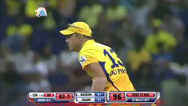 CSK vs DD - Match 8 - Ashwin picked up Dinesh Karthik and Mohammed Shami wicket - PEPSI IPL 2014 (21 April 2014)