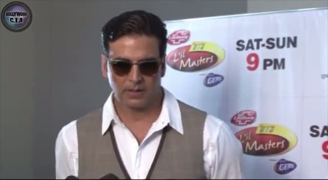 Akshay Kumar & Sonakshi Sinha on Dance India Dance Masters 3