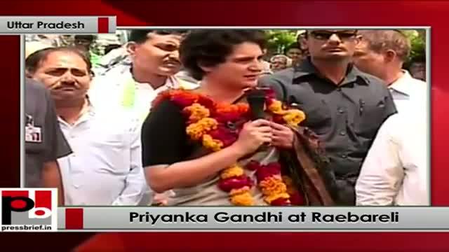 Priyanka Gandhi in Raebareli hits back at opposition for baseless attacks on her family