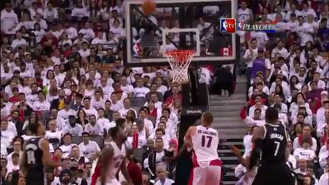 NBA: Amir Johnson Sinks the Amazing Backwards Flip Circus Shot (Basketball Video)