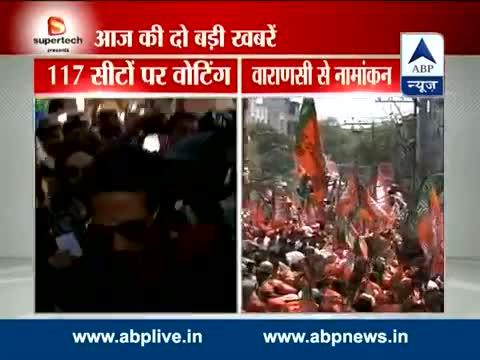 Sachin Tendulkar casts his vote in Mumbai