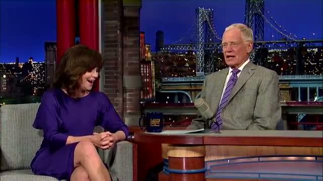 David Letterman - Sally Field Doesn't Watch Spider-Man