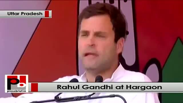 Rahul Gandhi in Hargaon, Uttar Pradesh, slams Modi over Adani, women empowerment