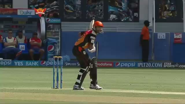 SRH vs DD - Match 12 - Shikhar Dhawan started well for SRH with 33 runs - PEPSI IPL 2014 (25 April 2014)