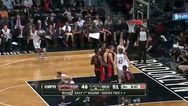 NBA Combo: Deron Williams and Joe Johnson Take Game 3 Over Toronto (Basketball Video)