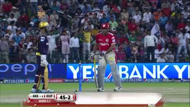KKR vs KXIP - Match 15 - Virender Sehwag scored usefull 37 runs - PEPSI IPL 2014 (26 April 2014)