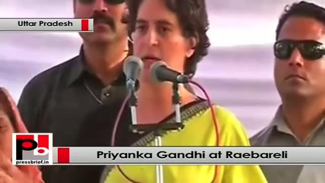Priyanka Gandhi Vadra at Raebareli: We need to save this country from communal powers
