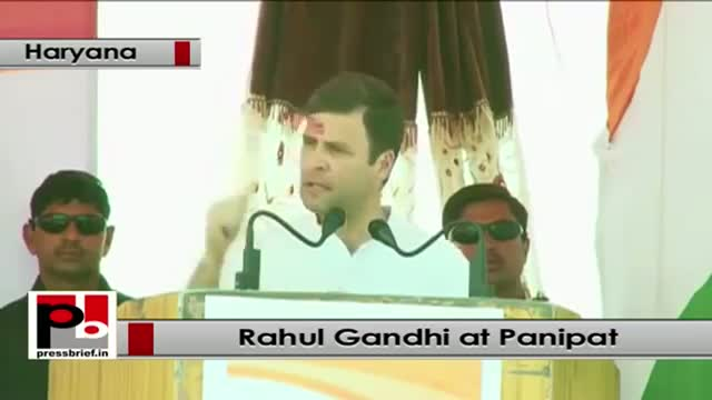 Rahul Gandhi : BJP tried to block the Land Acquisition bill for two years